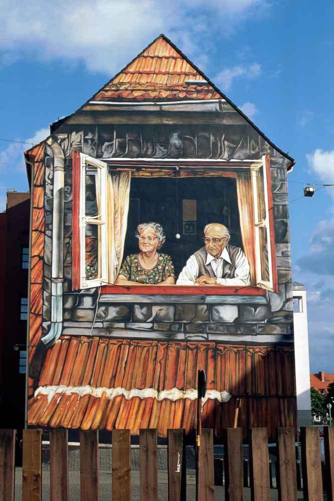 blick aus dem fenster 1976 peter k f kr ger. Black Bedroom Furniture Sets. Home Design Ideas